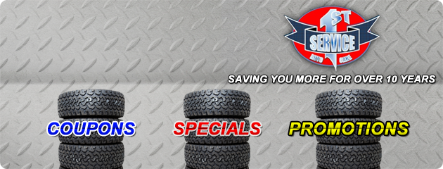 Service 1st Auto Care Savings