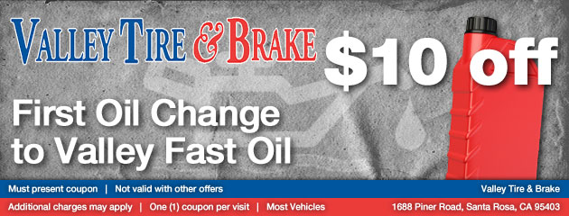 $10 off First Oil change