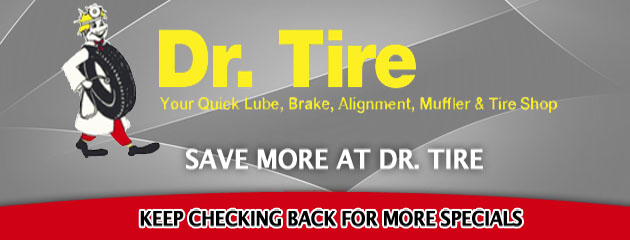Dr Tire_Coupons Specials