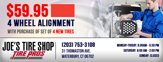 $59.95 4 Wheel Alignment