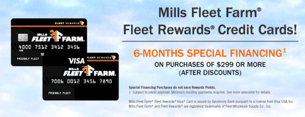 Mills fleet farm coupons discount code