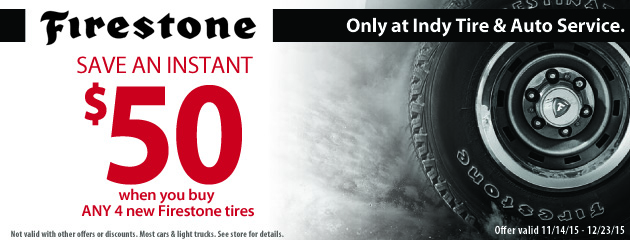 Firestone Tires Deal