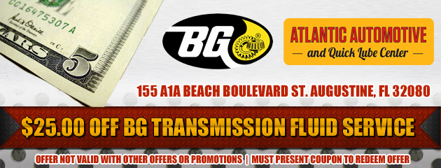 $25 Off BG Transmission Flush