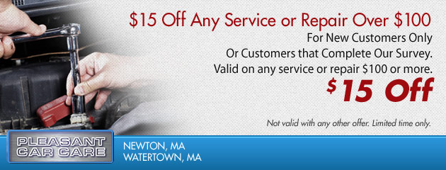 Save $15 on Any Service or Repair Over $100