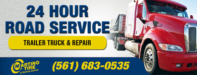 24 Hour Road Service for Commercial Trucks