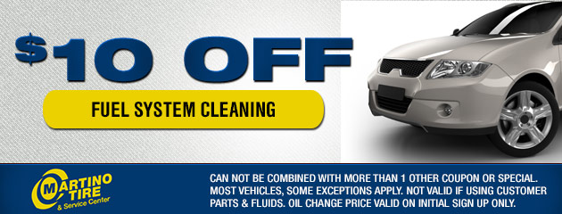 $10 Off Fuel System Cleaning Coupon