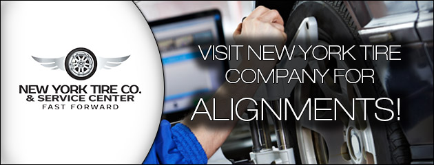 Visit New York Tire Company for Alignments!