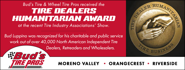 Tire Dealers Humanitarian Award