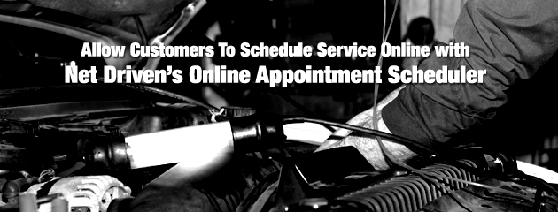 NetDriven's Online Appointment Scheduler