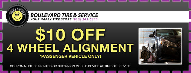 $10 Off Alignment