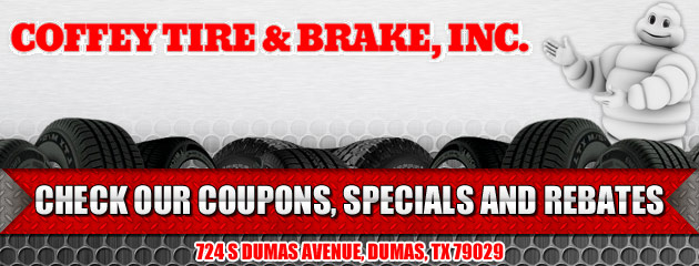 Coffey Tire & Brake Inc Savings