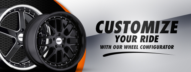 Check Out Our Wheel Configurator