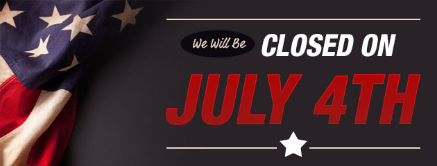 Closed 4th Of July