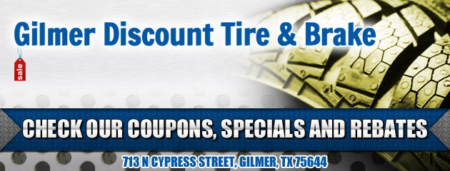 Gilmer Discount Tire & Brake Savings