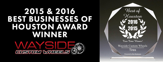 2015 and 2016 Best Businesses of Houston Award