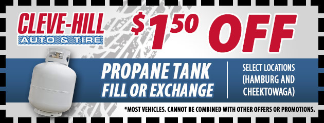 $1.50 Off Propane Fill or Exchange