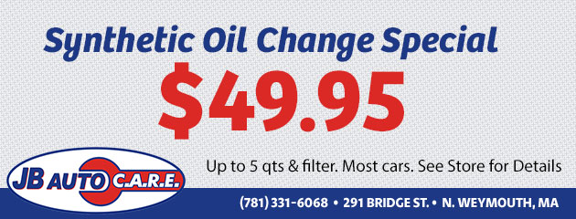 $49.95 Synthetic Oil Change