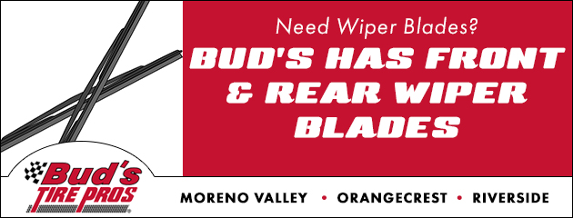 Wiper Blades Available