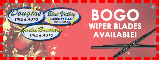 BOGO Wiper Blades Available!