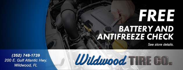 FREE Battery and Antifreeze Check
