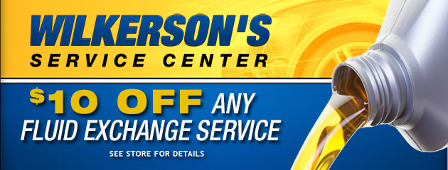 $10 Off Any Fluid Exchange Service