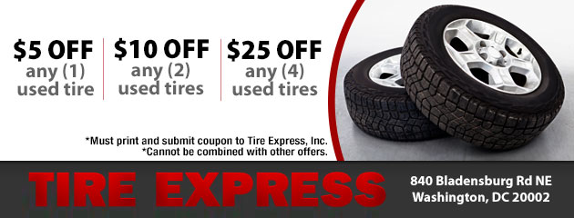 Save On Used Tires!
