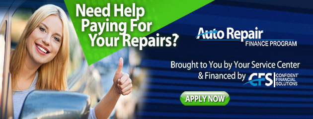 Auto Repair Finance Program