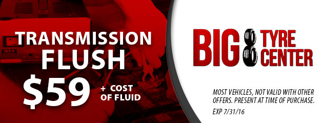 $59.00 Transmission Flush Coupon
