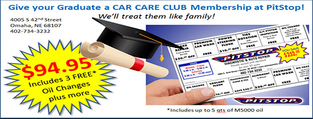 Graduate Car Care Club Membership