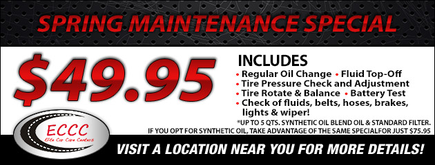 Spring Maintenance Special