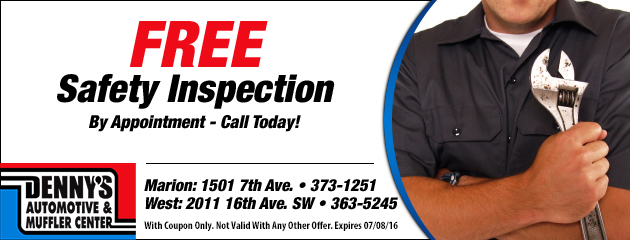 Free Safety Inspection