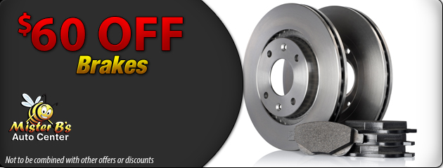 $60 Off Brakes