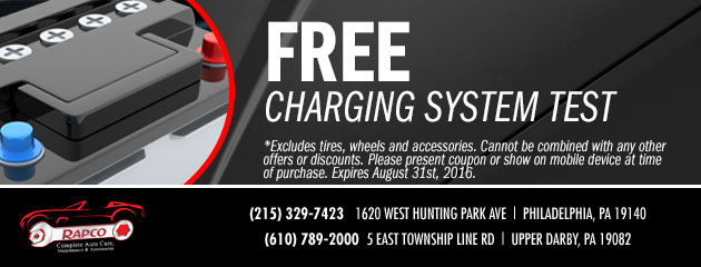 FREE Charging System Check