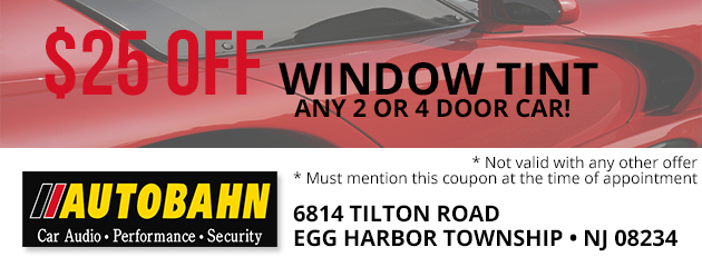 $25 OFF Window Tint!