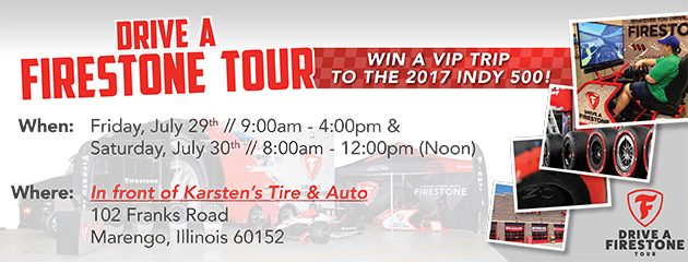 Drive A Firestone Tour