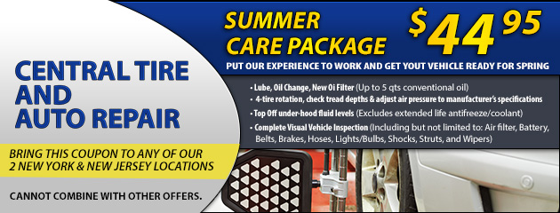 Summer Car Care Pacakge