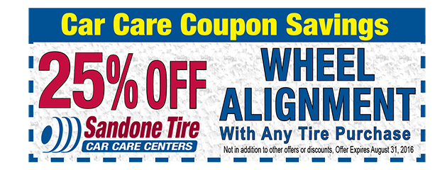 25% Off Wheel Alignment Special