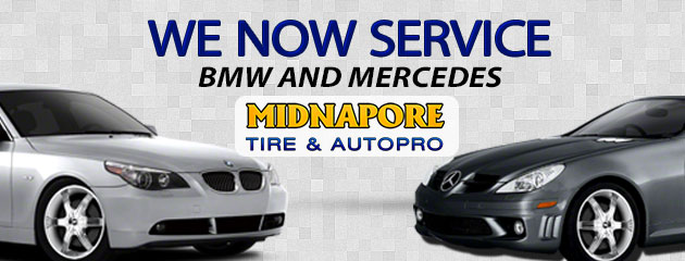 We Service BMW and Mercedes!