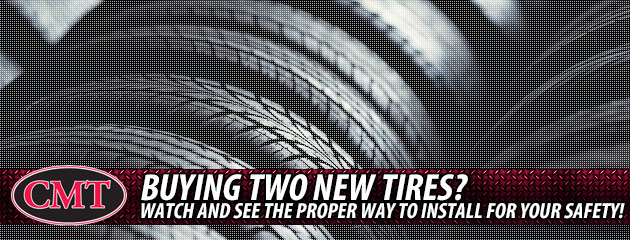 Buying 2 New Tires?