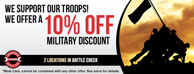 Military Discount Receive 10% Off