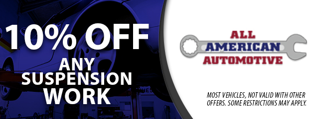 10% Off Any Suspension Work