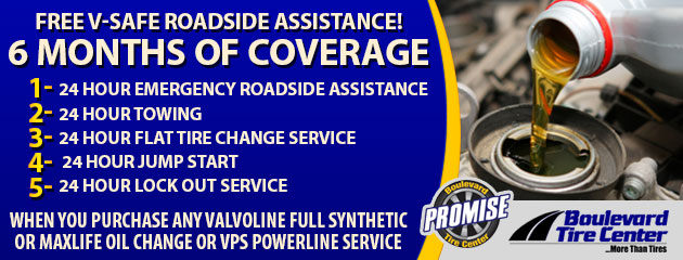 Free V-Safe Roadside Assistance