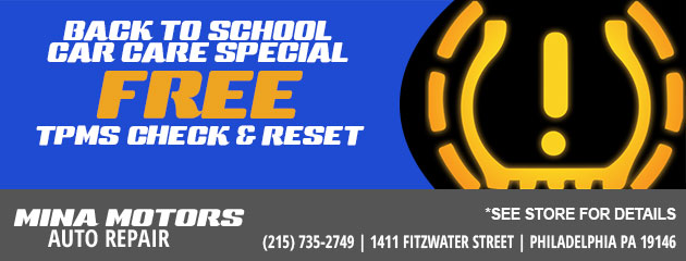 Back to School Car Care Special