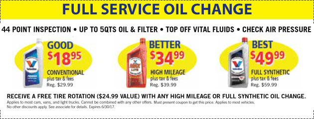 Full Service Oil Change