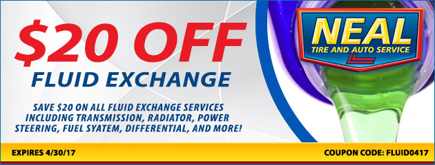 $20 OFF Fluid Exchange