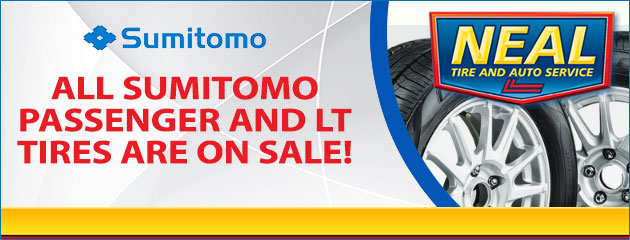Sumitomo Tire Sale