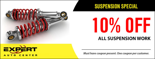 10% Off All Suspension Work