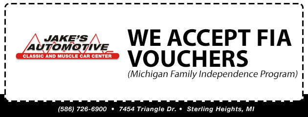 We Accept FIA Vouchers