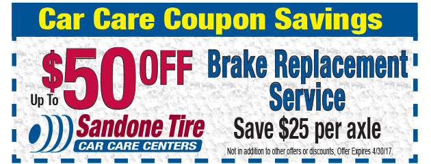 Up to $50 OFF Brake Replacement Service