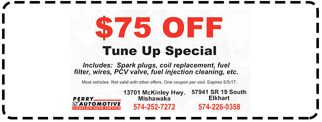 $75 OFF Tune Up Special